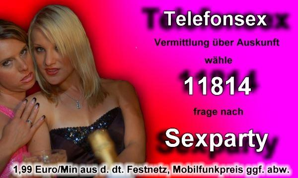 Telefonsex Sexparty